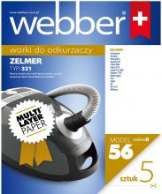 Worki WEBBER ZELMER 321 (56 multi layer paper)