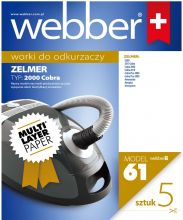 Worki Webber Zelmer 2000/2010 (61 multi layer paper)
