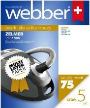 Worki Webber Zelmer 1500 (75 multi layer paper)