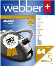 WEBBER ZELMER 1010F /plus 2 filtry/ (64 MULTI LAYER PAPER)