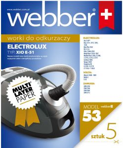 Worki  Webber Electrolux Xio E51 (53 multi layer paper)