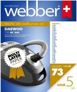 Worki Webber Daewoo RC300 (73 multi layer paper)