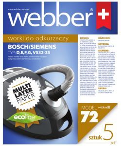 WEBBER ELECTROLUX SIEMENS VS32 (72 MULTI LAYER PAPER)