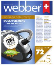 Worki Webber Electrolux Siemens VS32 (72 multi layer paper)
