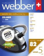 WEBBER ZELMER 800 (82 MULTI LAYER PAPER)