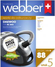 WEBBER DAEWOO RC805 (88 MULTI LAYER PAPER)