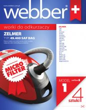 Worki WEBBER ZELMER 4940 (1 micro filter)