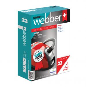 Worki Webber Zelmer 1500 (23 nano filter)