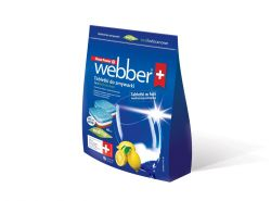 Tabletki do zmywarki WEBBER all in one 40szt ECO