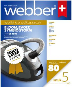Worki Webber Zanussi/Eldom/Severin/Simbio (80 multi layer paper)