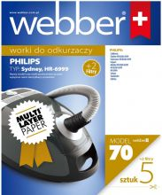 Worki Webber Philips Sydney /plus 2 filtry/ (70 multi layer paper)