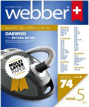 Webber Daewoo RC105 (74 multi layer paper)