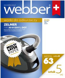 Worki Webber Zelmer XS/DOT (63 multi layer paper)