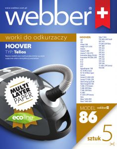 Worki Webber Hoover Telios (86 multi layer paper)