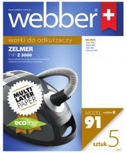 Worki Webber Zelmer 3000 (91 multi layer paper)
