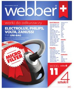 Worki Webber Philips/Electrolux UNI BAG (11 micro filter)