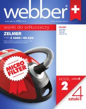 Worki Webber Zelmer 3000 (2 micro filter)