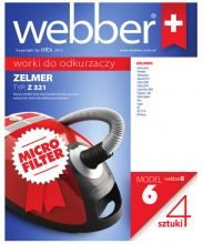Worki Webber Zelmer 321 (6 micro filter)