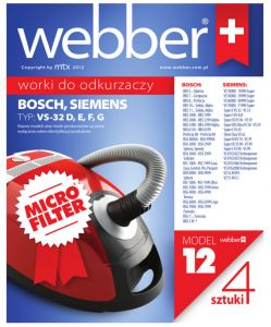 Worki Webber Siemens VS32 (12 micro filter)